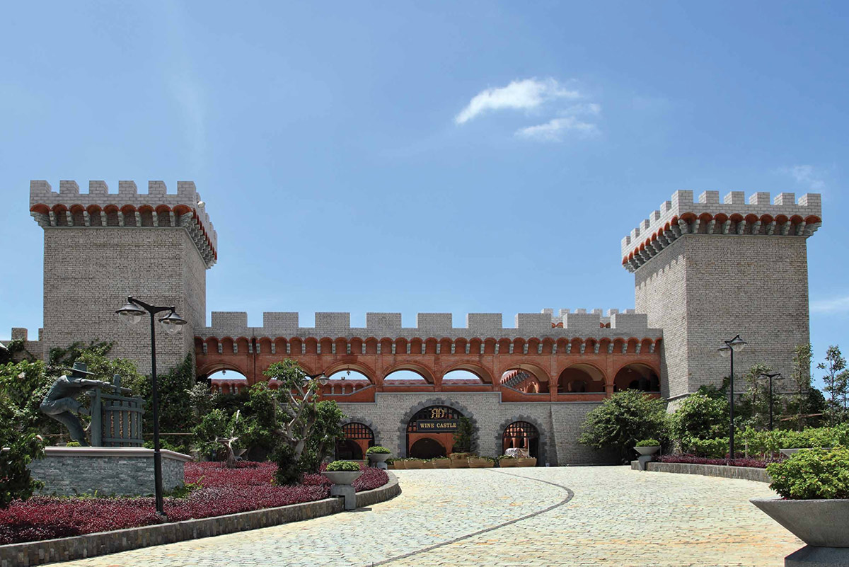 RD Wine Castle in Vietnam