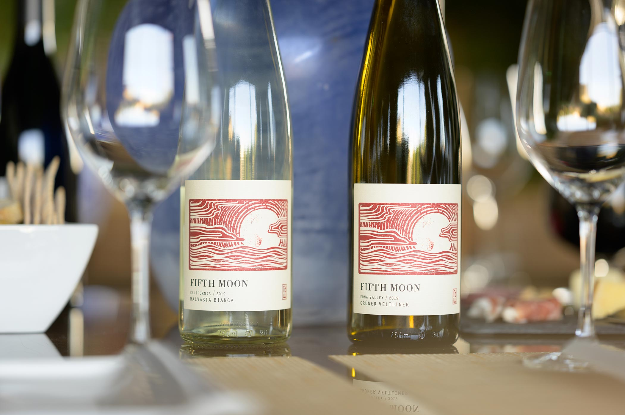 Malvasia Bianca and Gruner Veltliner are two of the uncommon varieties we produce