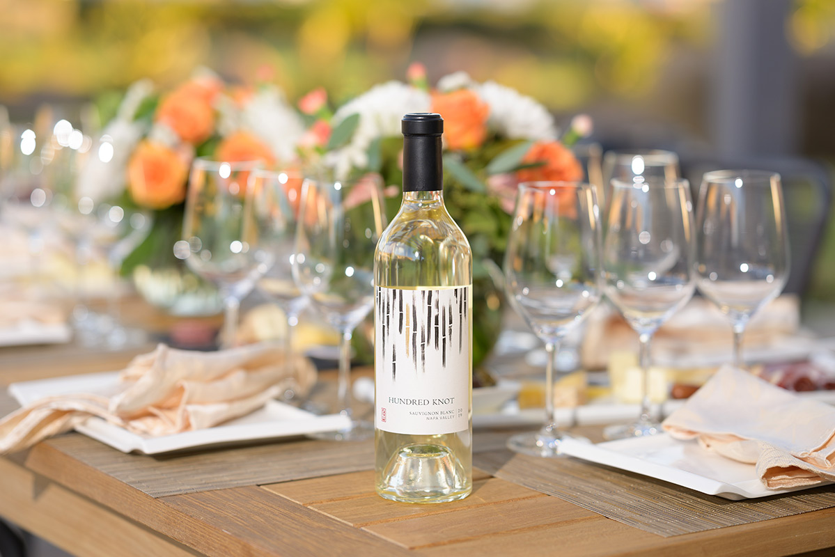 RD Winery Hundred Knot Sauvignon Blanc al fresco