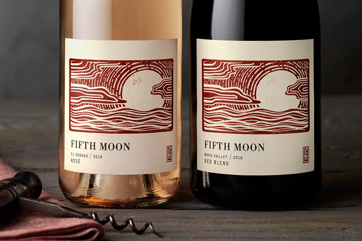 Fifth Moon label designs