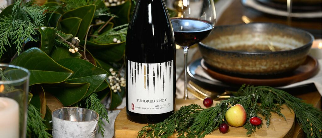 Grenache on a holiday table
