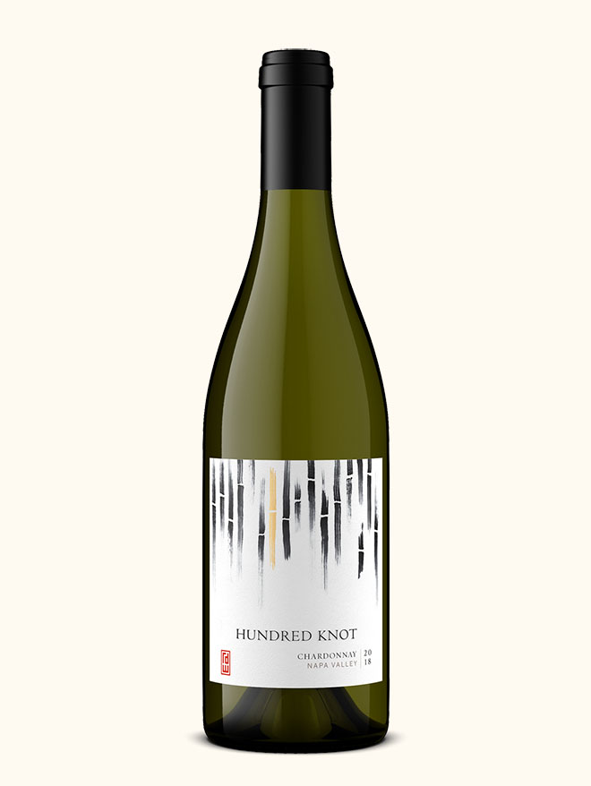 Hundred Knot chardonnay wine