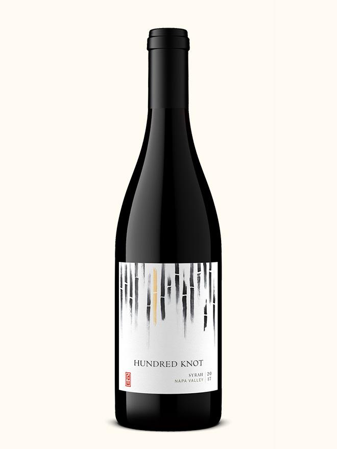 Hundred Knot syrah wine