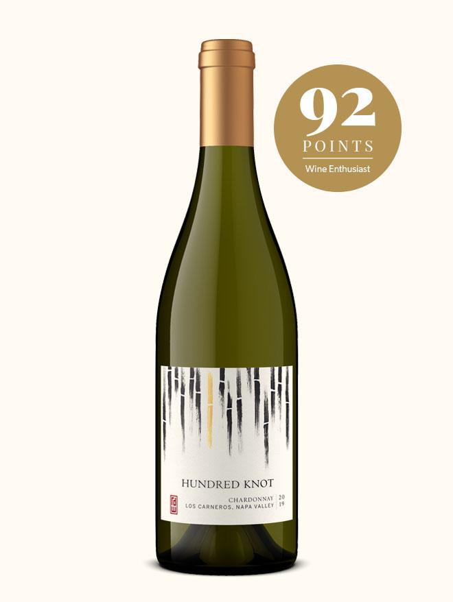 Hundred Knot napa wine chardonnay