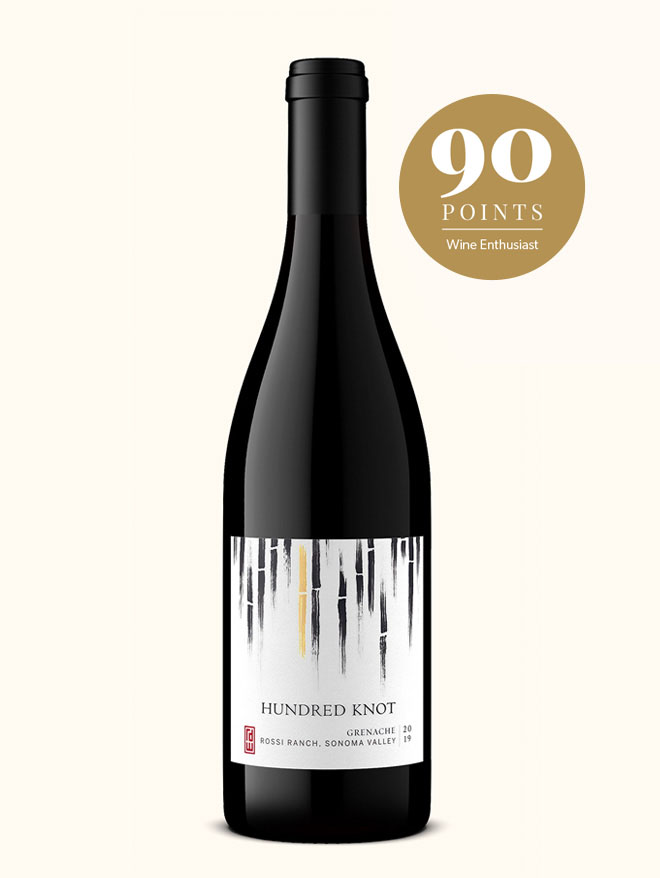 Hundred Knot grenache napa wine scored