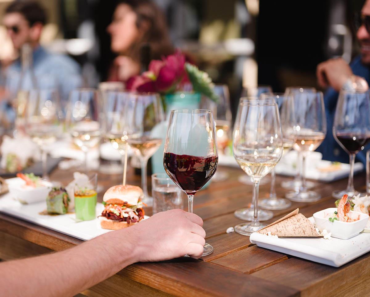 Napa wine club red wine