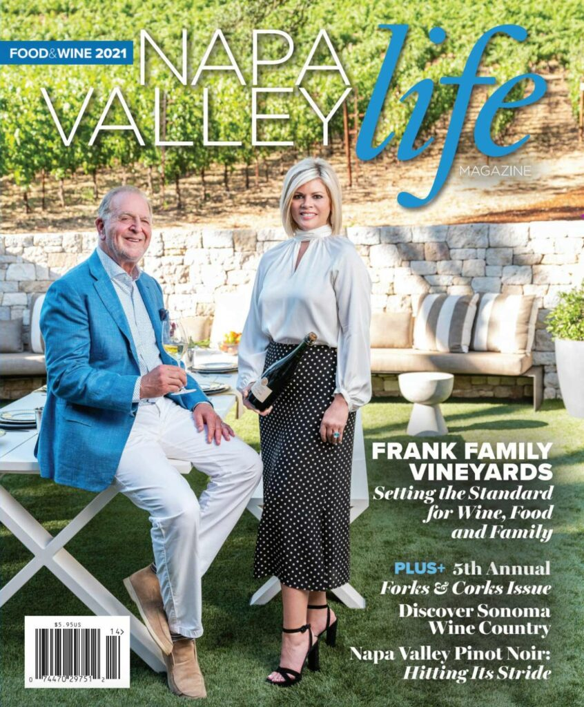 Napa Valley Life Magazine 2021 Cover