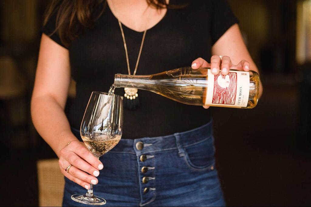 Napa Valley Rose wine
